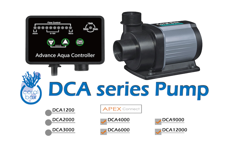 new 2018 coral box dca 6000 smart dc pump  produced exclusively by jebao dcs